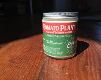 Tomato Plant Candle
