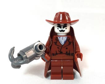 Rorschach The WATCHMEN Custom Minifigure 100% Lego Compatible! Alan Moore DC Comics Character