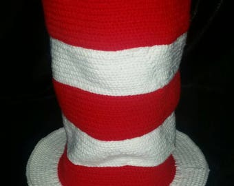 Crochet Dr Seuss Cat in the Hat Hat