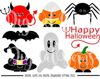Halloween svg / dxf / eps / png files. Digital Download. Silhouette and Cricut compatible. Commercial use ok.