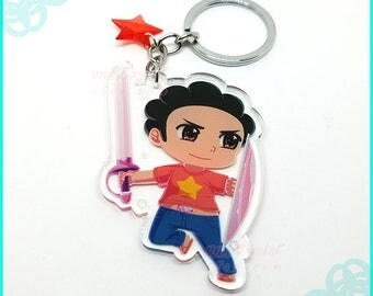 Steven Keychain Steven Universe