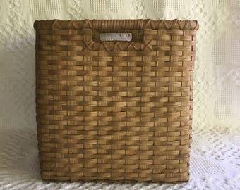 Custom Cubby Basket