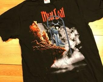 Vintage meatloaf or tour T-shirt size large