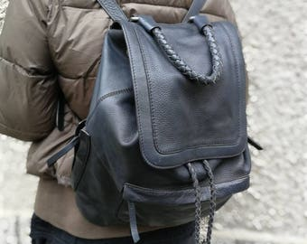 leather backpack, backpack, travel bag, student backpack, ipd backpack. Portable backpack