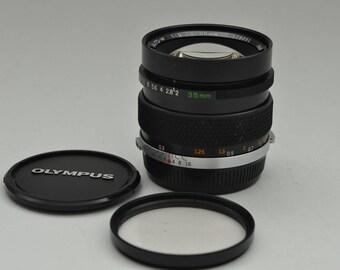 Olympus Om 35mm 1:2 F2 Zuiko