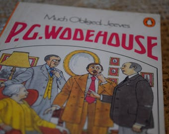 Much Obliged, Jeeves. P. G. Wodehouse. A Vintage Penguin Book. 1982