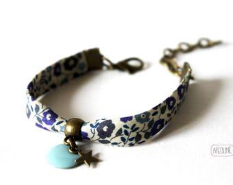 Bracelet Liberty ° ° ° Turquoise enamel Sequin