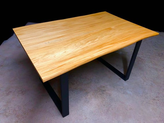 SALE! Primavera Live Edge Dining Table Ready to Ship!