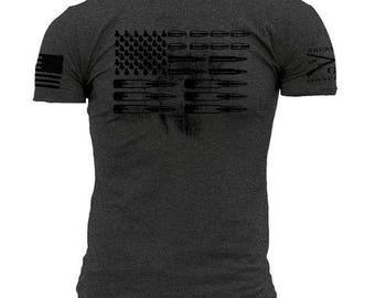 Grunt Style Ammo flag tee shirt NEW