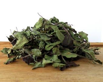 Tulsi Holy Basil Tea | Ocimum tenuiflorum | Krishna Tulsi Leaf | Organic Tea Leaves | Grown in Hawaii | 1 oz