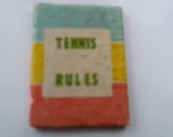 Vintage Barbie Tennis Book