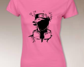 Funny Kakashi t shirt, For Women