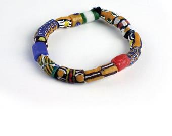 Ghana Trade Beads Bracelet