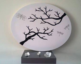 """tree footprints """"pleasures and dragonflies"""""""