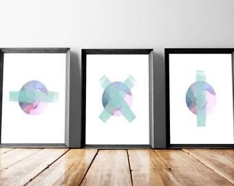 Paint Brush Art Set   Brush Strokes Set, Brushstrokes, Brushstrokes Art Set, Painted Strokes Set, Abstract Brush Set, Abstract Strokes Set
