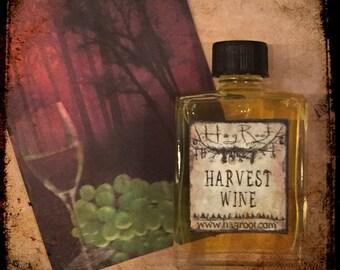 HARVEST WINE-(Maple Leaves, Rosehips, Cinnamon, Grapes, Oak, Musk) Perfume Oil, Ritual Oil, Hand Blended Artisan Oil