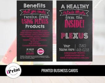 Plexus Business Card • Plexus Slim Business Cards • Plexus Marketing Business Card • PLX-BC-002