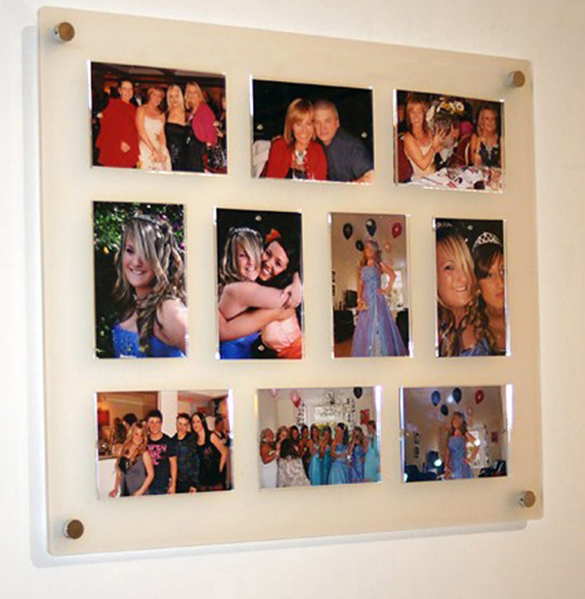 all colours acrylic large wall mount easy change magnetic 10x 5 x 7 7 x 5 picture photo frame frame size 29x24 perspex plexiglas - Easy Change Artwork Frames