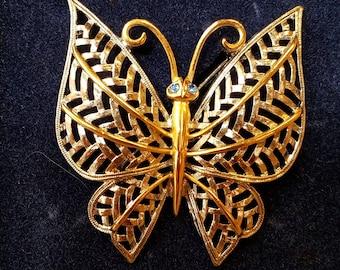 Vintage Avon butterfly brooch, butterfly brooch, avon butterfly brooch, avon