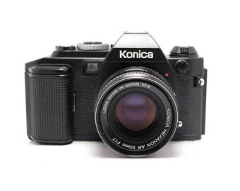 Konica FS-1 - 50mm f/1.7 Prime lens - Vintage SLR Camera