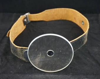 Doctors Mirror Headband Leather Bausch & Lomb Opt. Co. U.S.A.