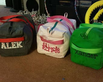 Customized Embroidered 9x9x18 Duffel Bag
