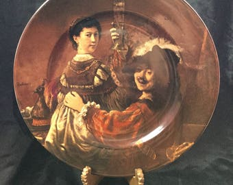 Rembrandt plate