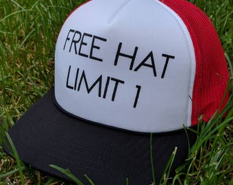Squidbillies Free Hat Limit 1 Trucker Hat