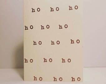Ho Ho Ho - Holiday Cards