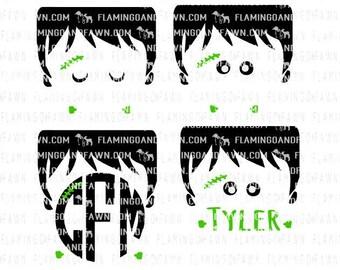 frankenstein boy svg, halloween svg files, frankenstein svg, boy halloween svg, svg halloween, shirt svg, halloween monogram svg, svg files