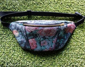 Tapestry Floral Bumbag/ Fanny pack/ Festival Bag