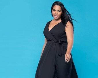 Kristyn Maxi Dress- Black