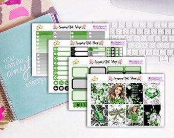 Green Of Envy Sticker Kit