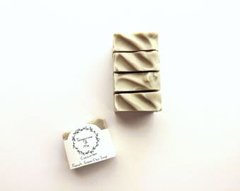Cucumber French Green Clay Soap // Vegan // Cruelty Free // All Natural // Unscented