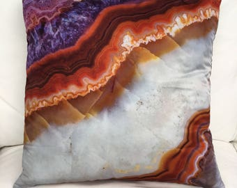 Pillow cover Amethyst/Agate 45x45cm