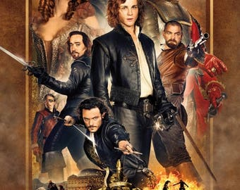 Summer Sale The Three Musketeers Movie POSTER (2011) Action/Romance