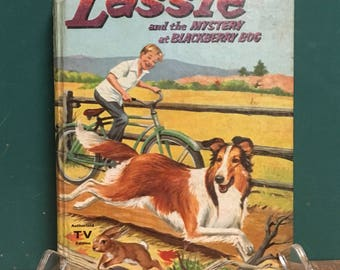 Vintage Lassie and the Mystery at Blackberry Dog