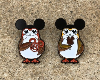 Series 2 - Porgs On Vacation At The Happiest Place On Earth Lapel Pin