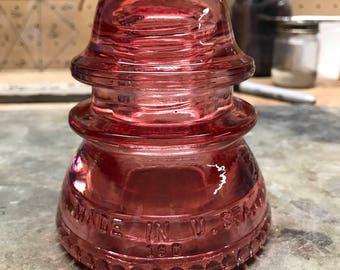 Red Colored Insulator