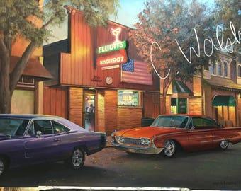 Elliott's bar, Danville, Ca