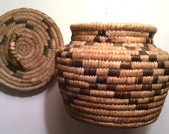Tohono O'odham (Papago) American Indian Basket
