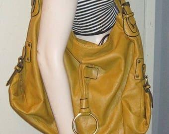 Vintage 70s Ladies WOMEN'S Purse HOBO Shoulder Handbag
