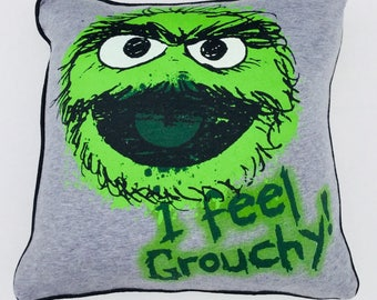 Oscar The Grouch Cushion