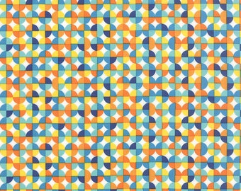 Moda ON THE WING Quilt Fabric 1/2 Yard By Abi Hall - Multi 35266 11