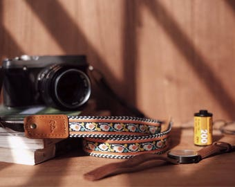 Thai Flower - Camera Strap
