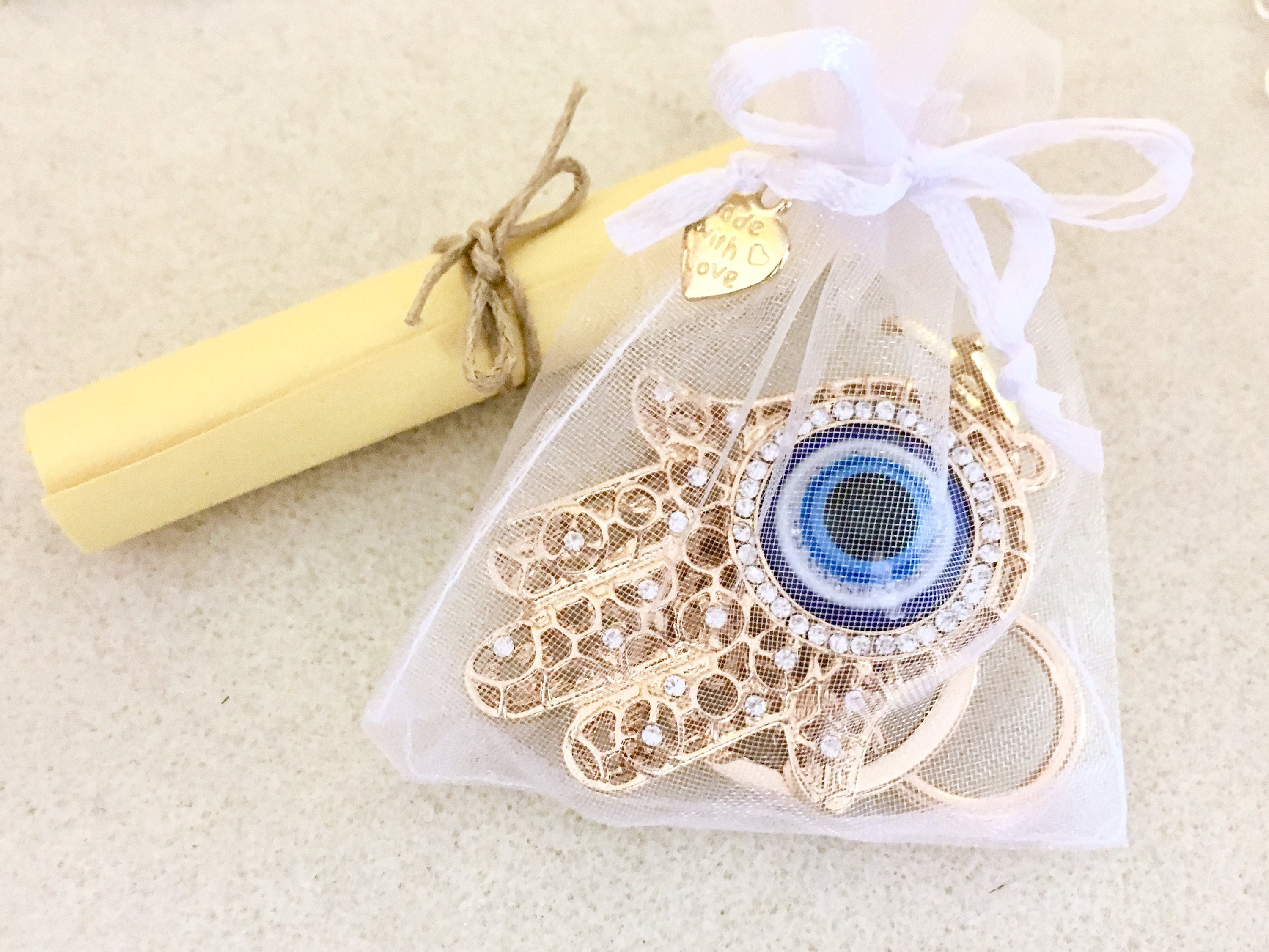Hamsa Keychain Personalized Evil Eye Yoga Gifts Buddhist Jewelry Accessories Hand