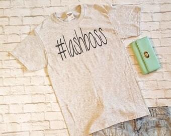 Lash Boss - Younique Swag -  shirt for women - boss lady tshirt - women tshirt - gift for mom -ladies top
