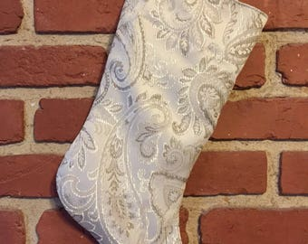 Recycled Fabric Stocking