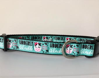 Udderly Adorable 1 inch Collar