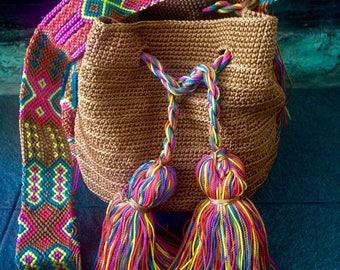 Otomiartesanal Mayan Morral (Mochila bag)